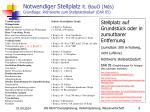 notwendiger stellplatz lt bauo nds grundlage richtwerte zum stellplatzbedarf ear 05