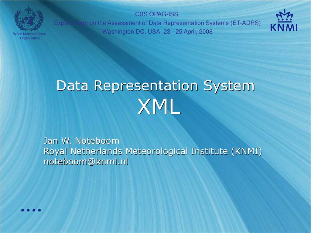 data representation system xml l.