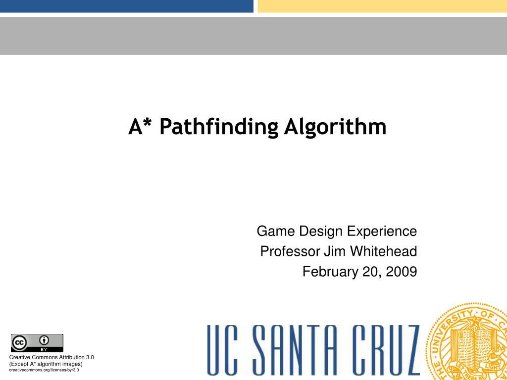 a pathfinding algorithm l.