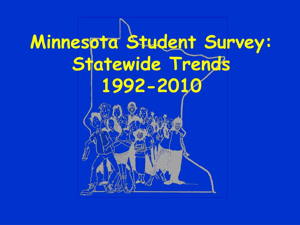minnesota student survey statewide trends 1992 2010 l.