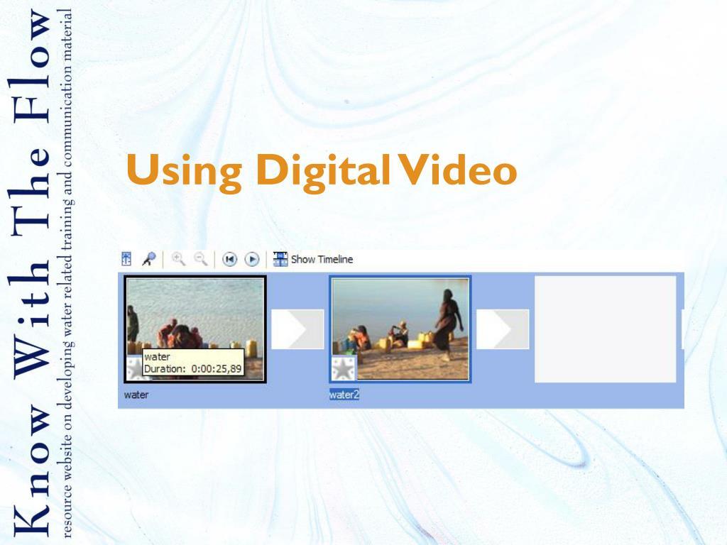 using digital video l.