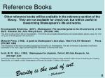 reference books8