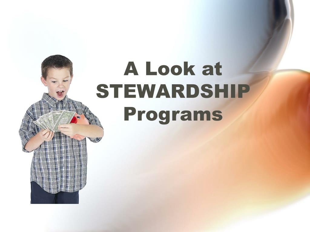 a look at stewardship programs l.