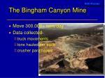 the bingham canyon mine