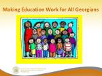 making education work for all georgians