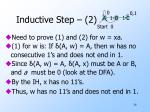 inductive step 2