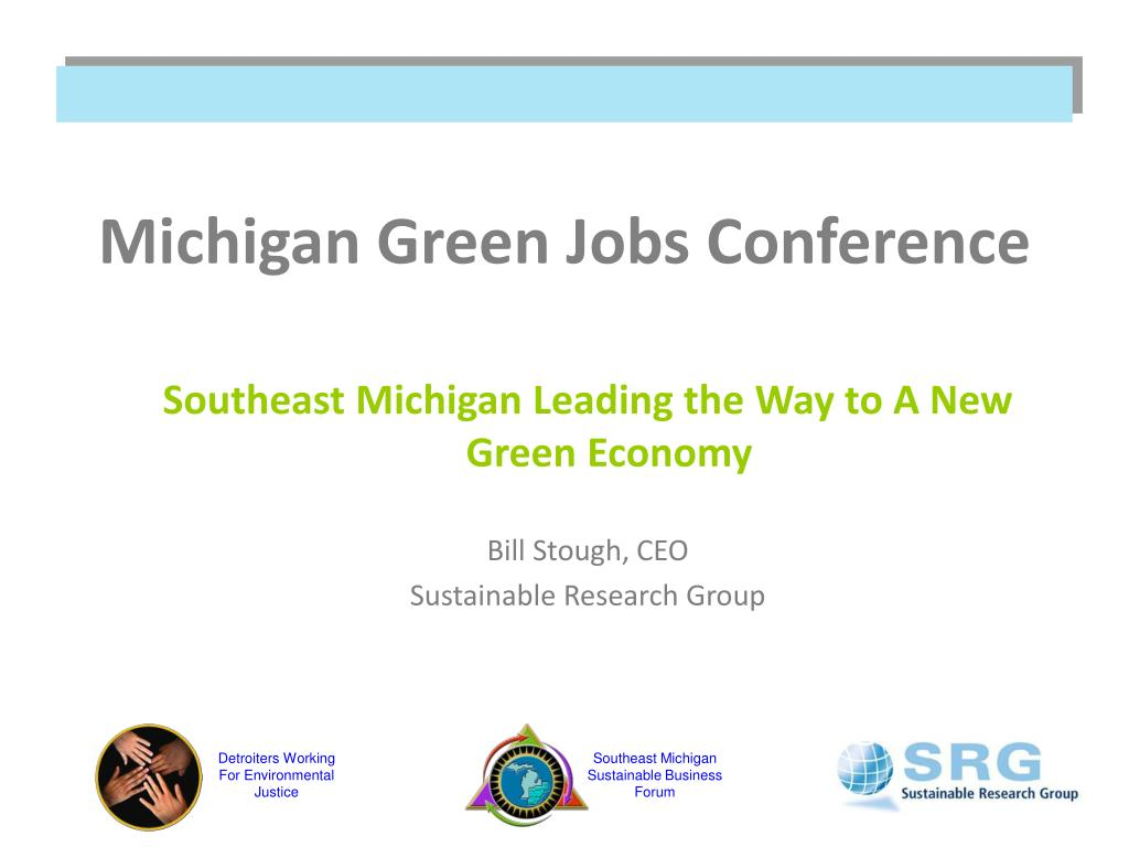 michigan green jobs conference l.