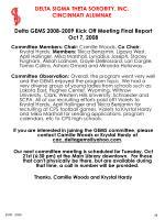 delta gems 2008 2009 kick off meeting final report oct 7 200844