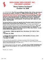 ebony fashion fair report october 18 2008