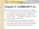 chapter ii commodity 2