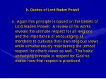 b quotes of lord baden powell