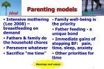 parenting models