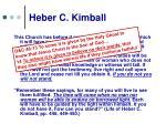 heber c kimball