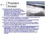 president kimball14