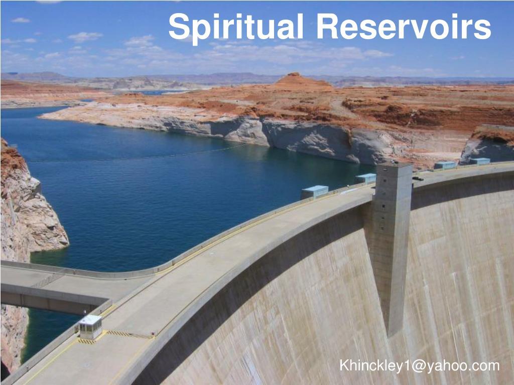 spiritual reservoirs l.