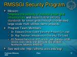 rmssgi security program