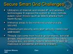 secure smart grid challenges