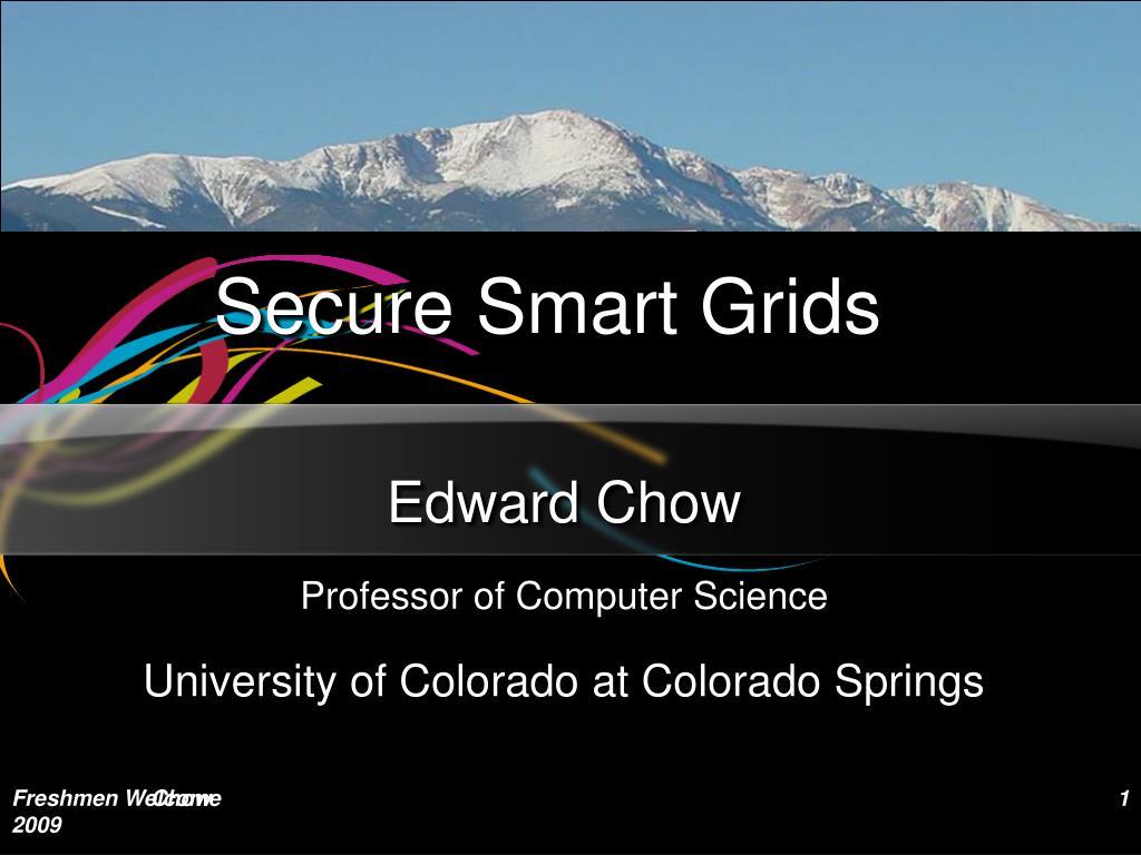 secure smart grids l.