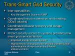 trans smart grid security