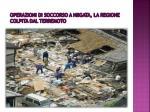 operazioni di soccorso a niigata la regione colpita dal terremoto