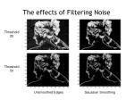 the effects of filtering noise
