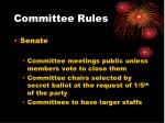 committee rules10
