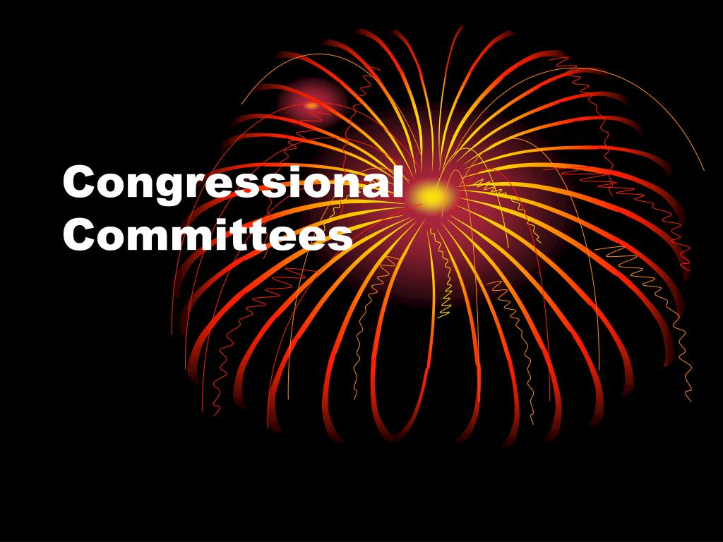 congressional committees l.