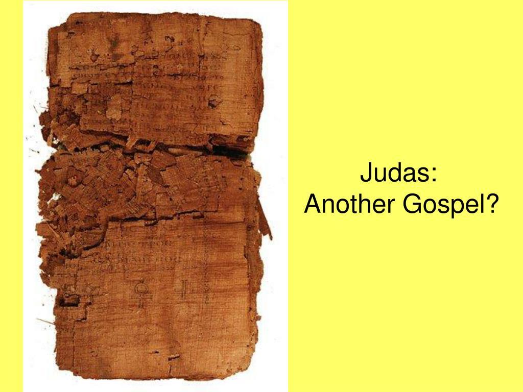 judas another gospel l.