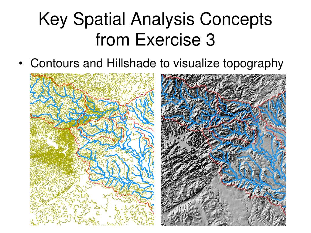 key spatial analysis concepts from exercise 3 l.