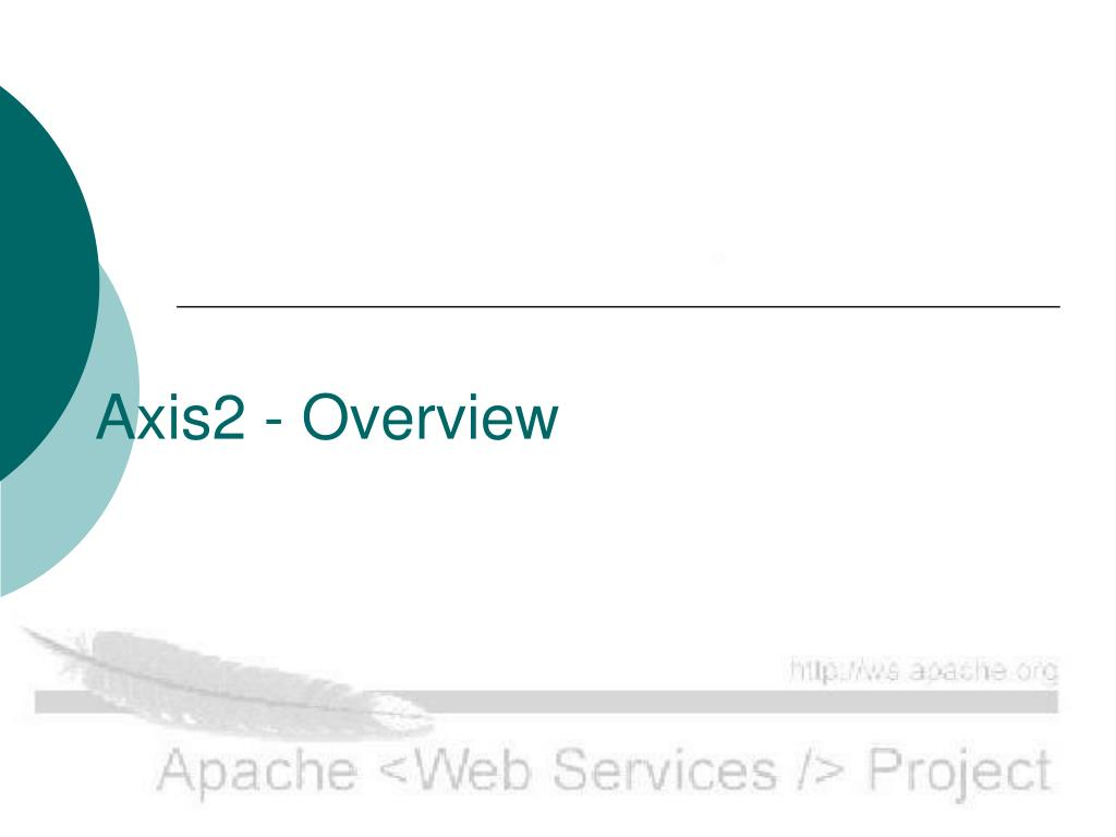 axis2 overview l.