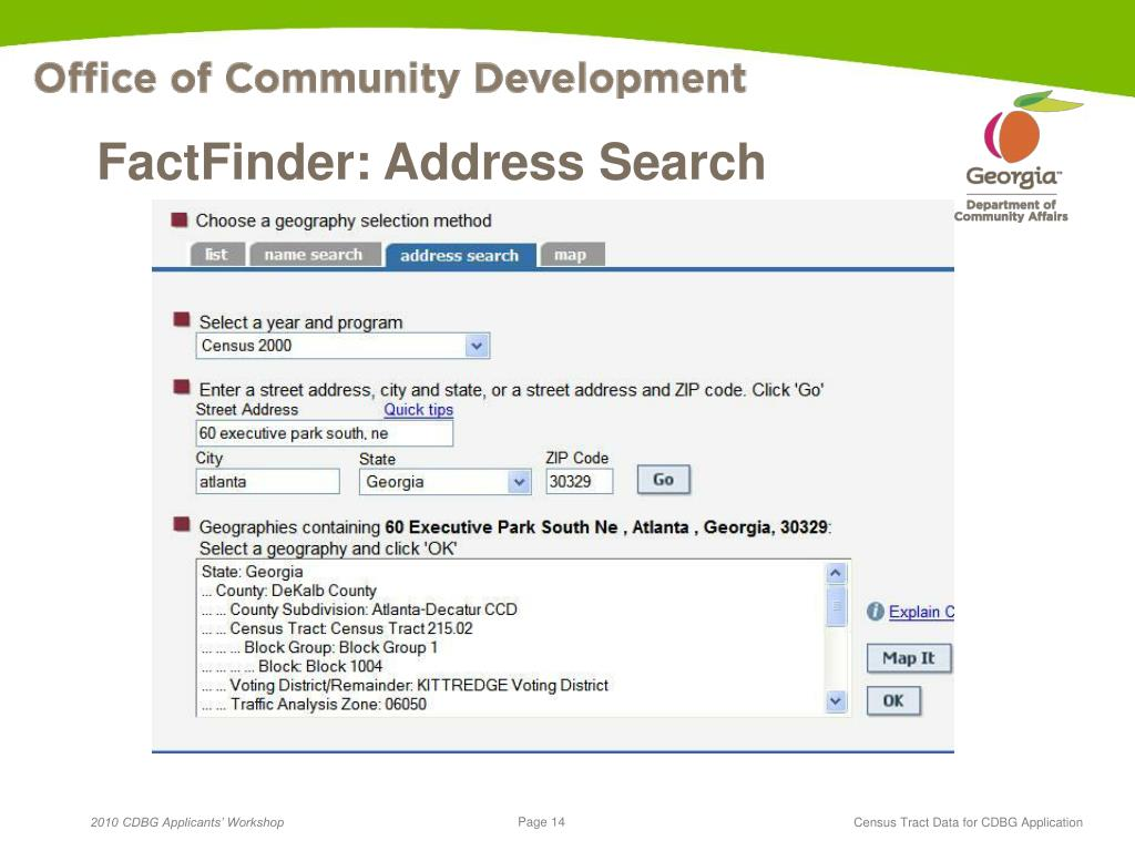 American FactFinder - Search - Census