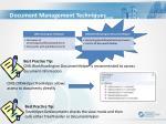 document management techniques