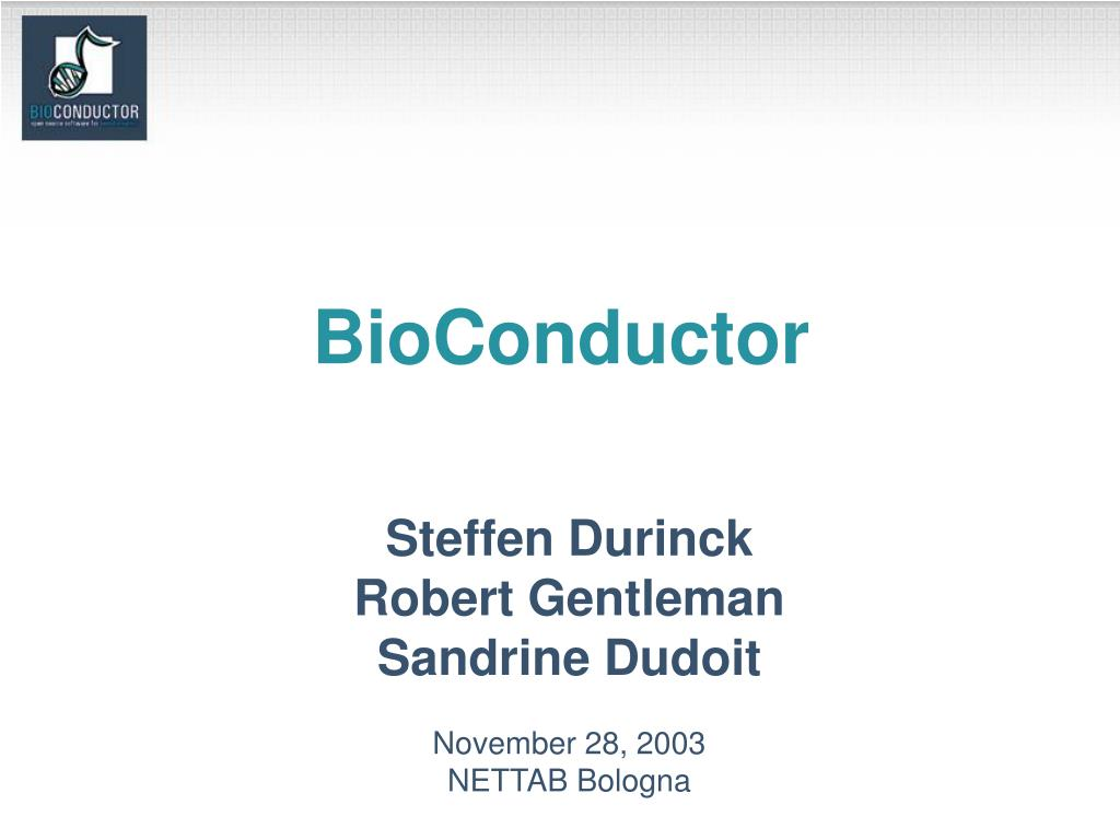 bioconductor l.
