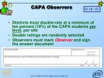 capa observers