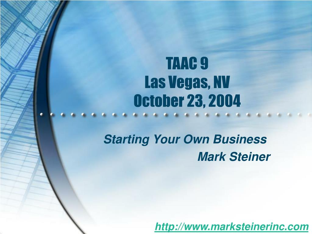 taac 9 las vegas nv october 23 2004 l.