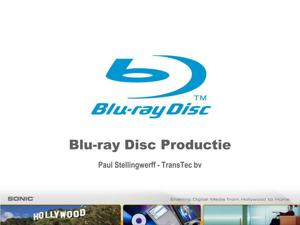 blu ray disc productie paul stellingwerff transtec bv l.