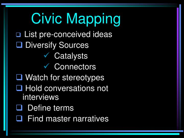 Civic Mapping