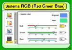 sistema rgb r ed g reen b lue