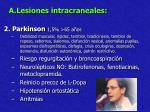 a lesiones intracraneales16