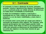 3 1 contraste