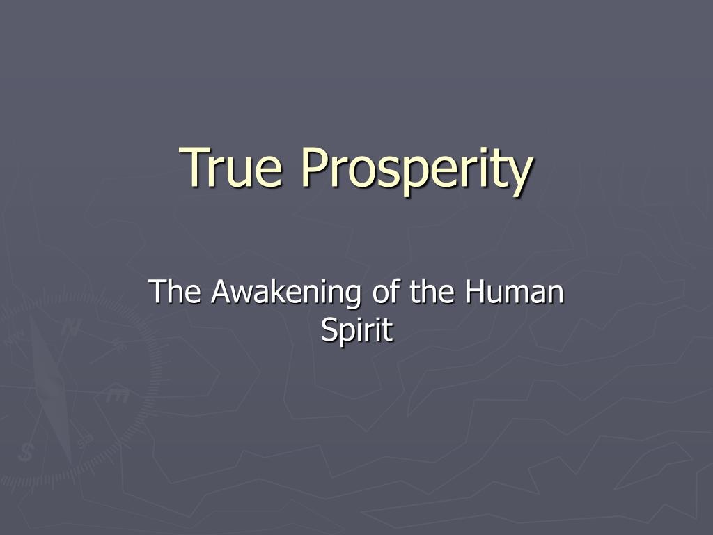true prosperity l.