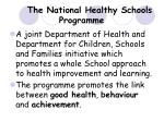 the national healthy schools programme3