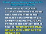 christ centered homes practice the forgiveness of christ