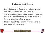 indiana incidents