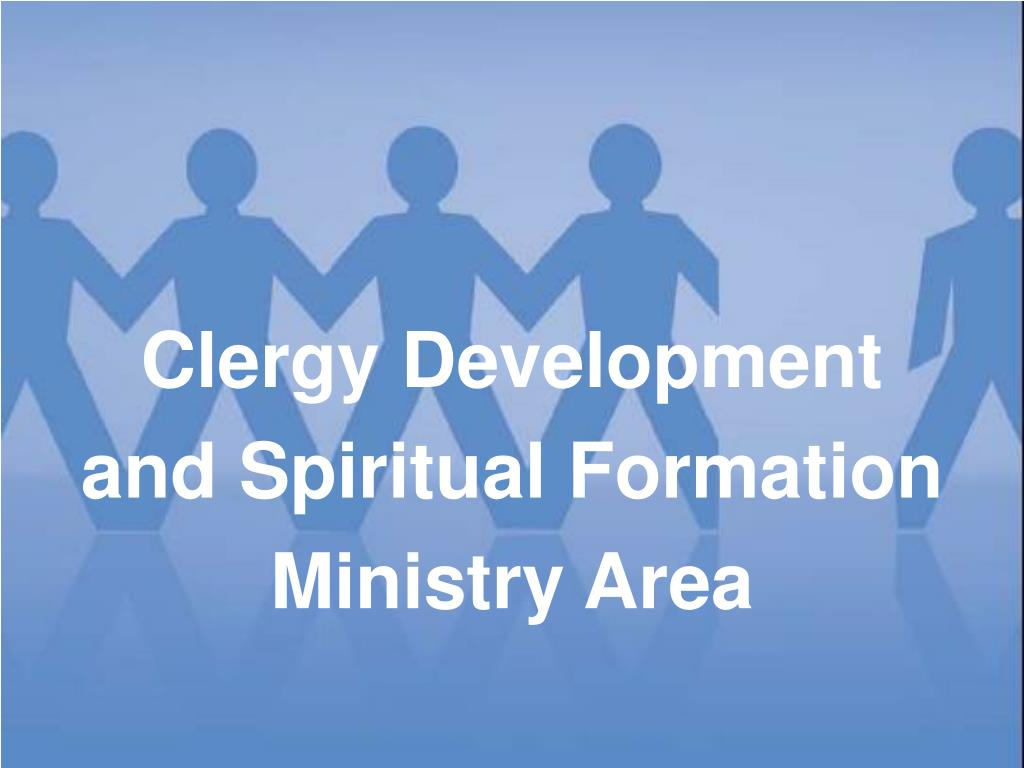 clergy development and spiritual formation ministry area l.