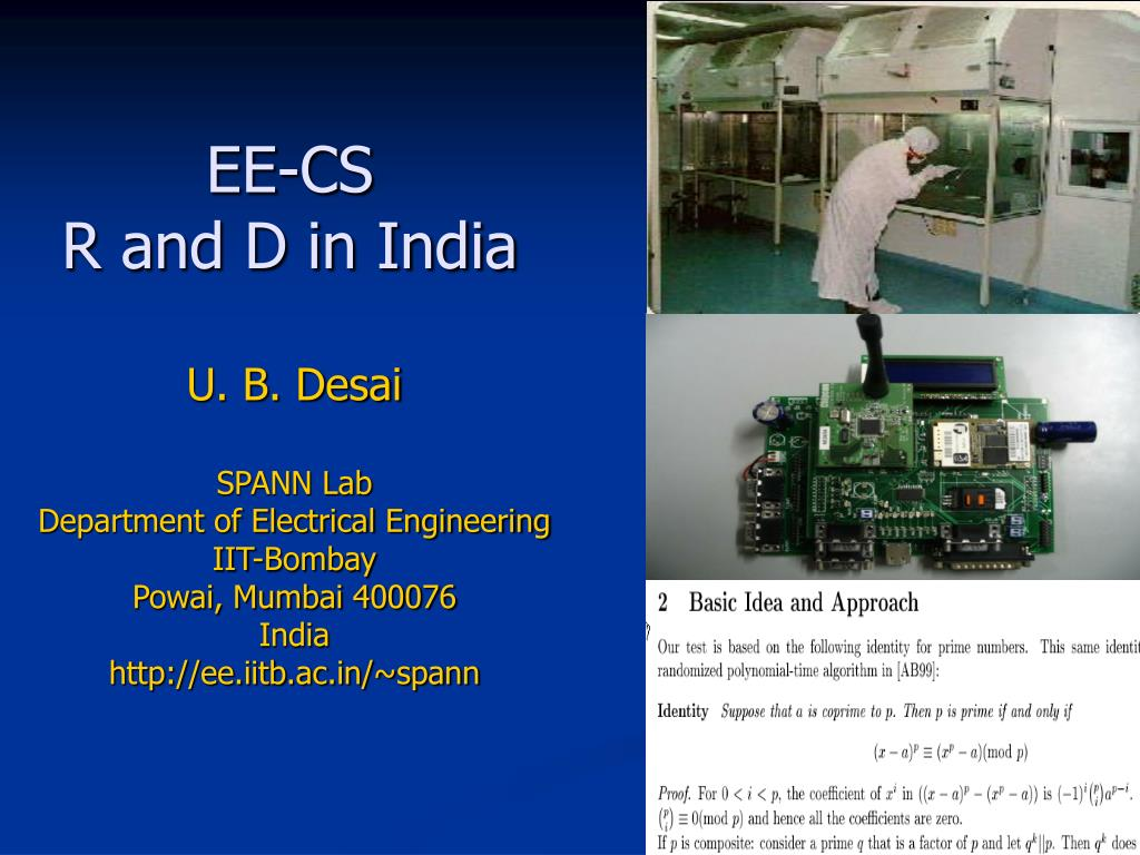 ee cs r and d in india l.
