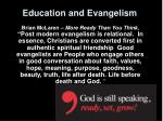 education and evangelism12