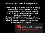 education and evangelism13