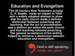 education and evangelism4