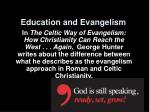 education and evangelism8